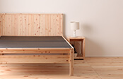 檜黒畳ベッド